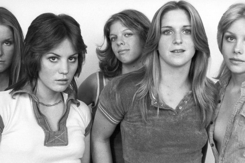 Wallpaper The runaways, Girls, Faces, Look, Band HD, Picture, Image