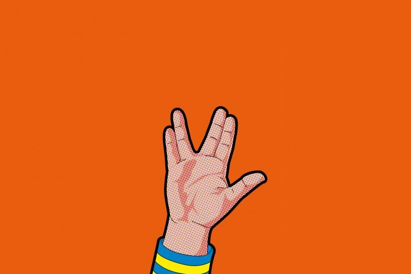 Entreprise Geek Hand Kirk Logical Long Life And Prosper Mr Spock Nerd Old  School Original Pi Space Star Trek TOS Universe Uss Wallpaper