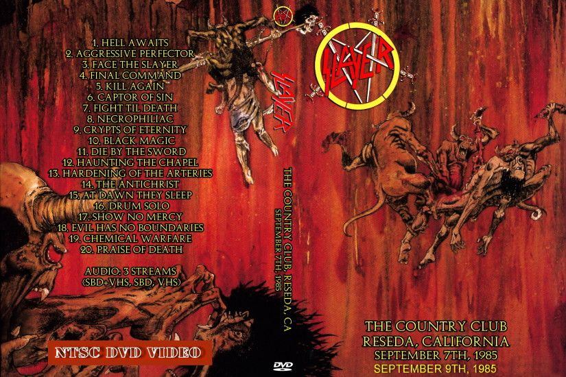 Slayer - Live at the Country Club 1985 [2 nights] larger image
