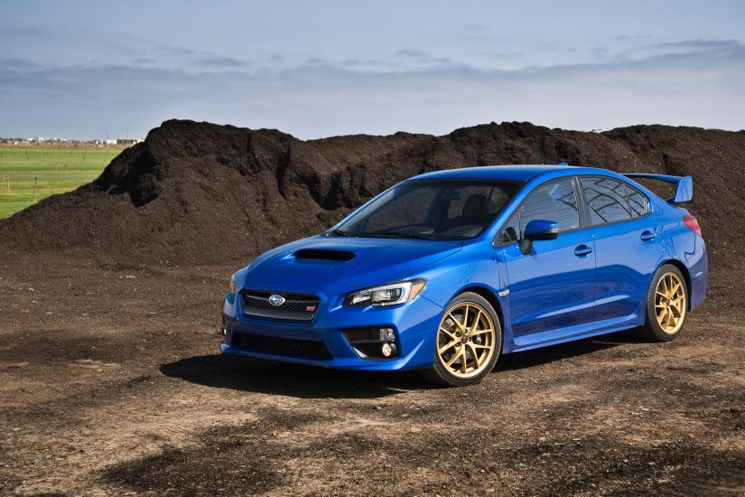 Blue Subaru WRX 2016 Wallpaper Wallpaper
