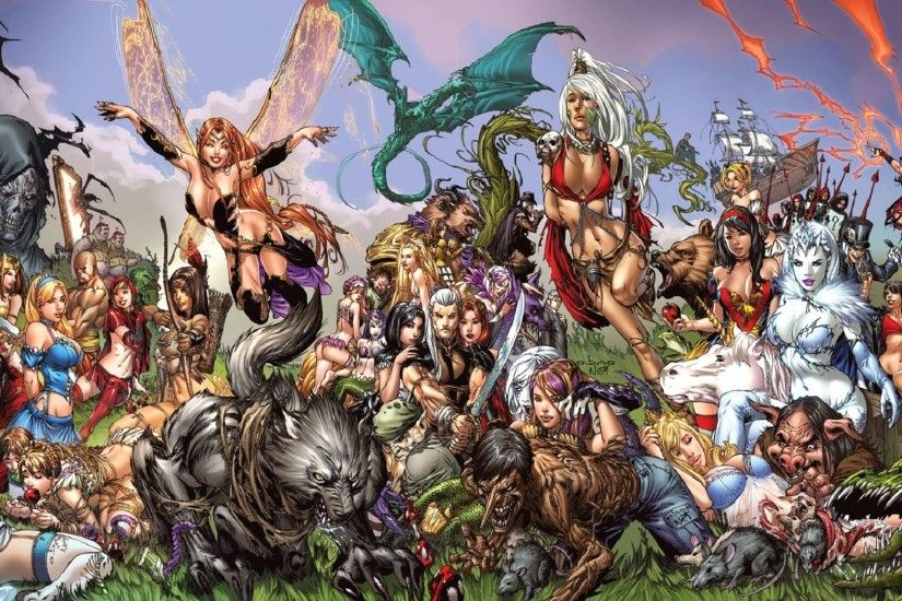 Comics - Grimm Fairy Tales Wallpaper