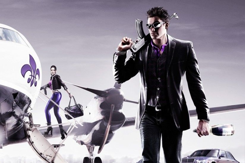2048x2048 Wallpaper saints row the third, saints row 3, volition  incorporated