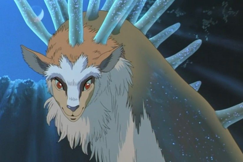 Mononoke Hime The Forest Spirit
