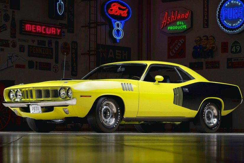 1971 Plymouth Hemi Barracuda V1 Hd Car Wallpaper
