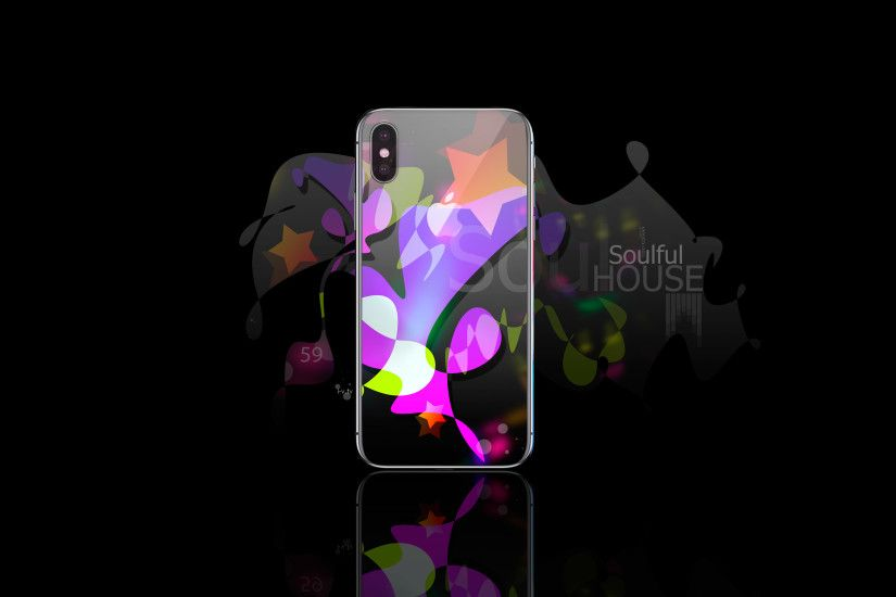 ... Wallpapers · Apple iPhone X Gadget iOS Back Logo AppleTony Soulful House  Music Fifty Nine TonyStar 2017