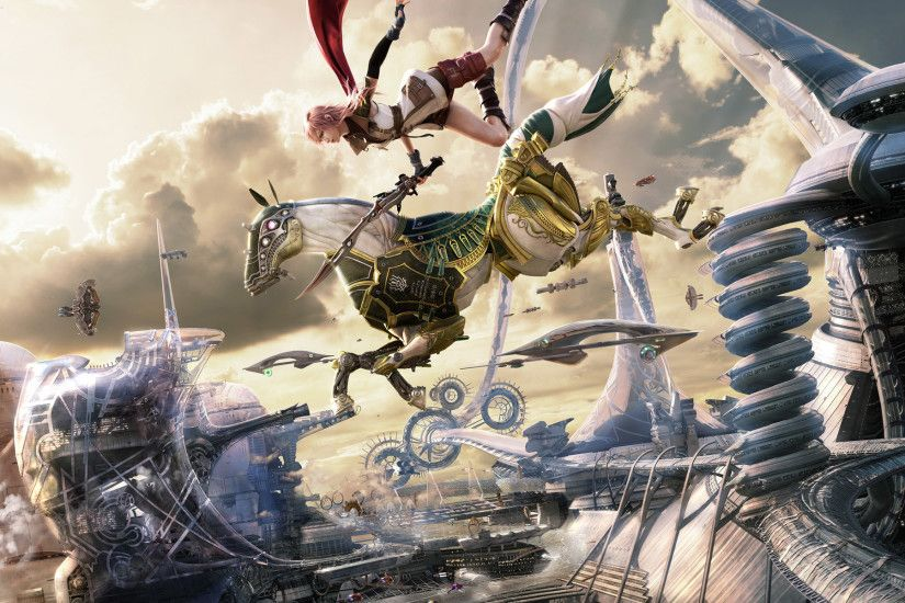 final-fantasy-XIII-2-wallpaper-lightning-odin-horseback-