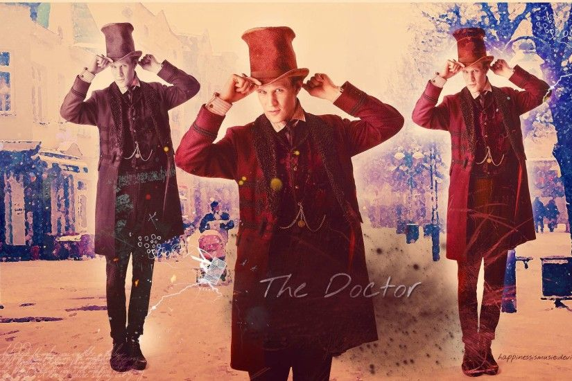 DeviantArt: More Like The eleventh Doctor Wallpaper 2 by .