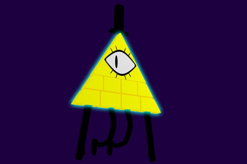 Bill Cipher Blender model ...