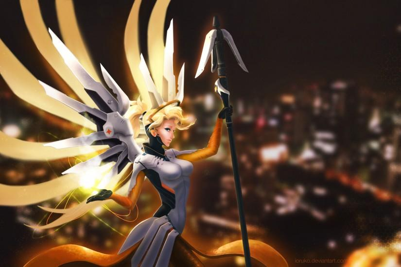 mercy overwatch wallpaper 2560x1600 photos