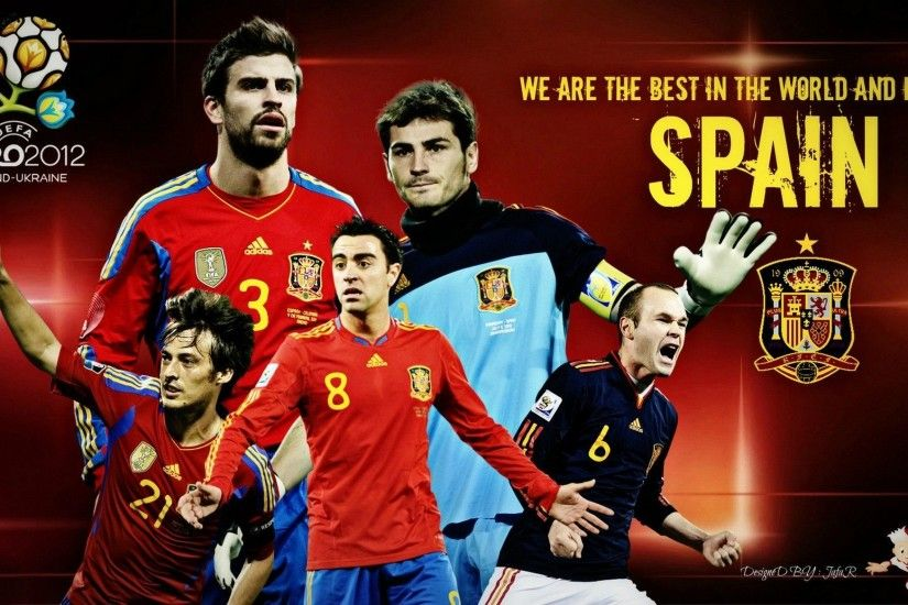 2073x1166 Wallpaper, Images For > Spain Football Logo Wallpaper Spain .