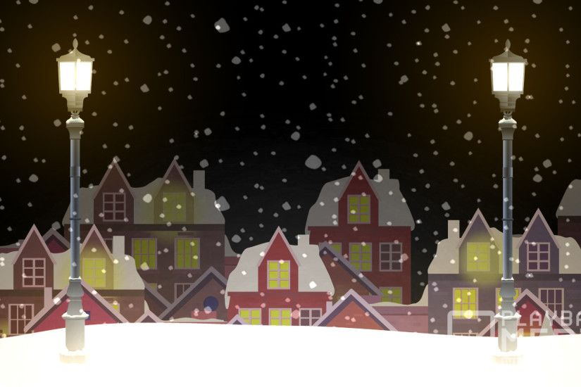 Christmas Village Still 6 Background Image