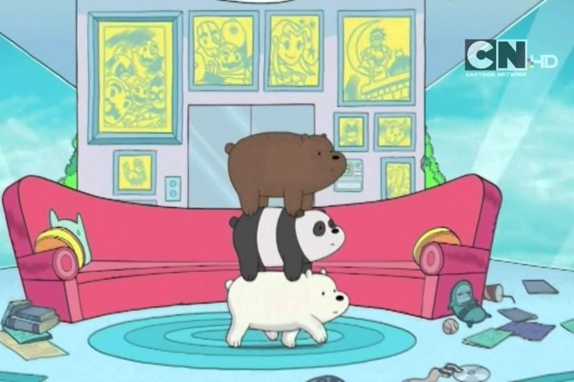 Cartoon Network UK HD We Bare Bears Teaser Promo