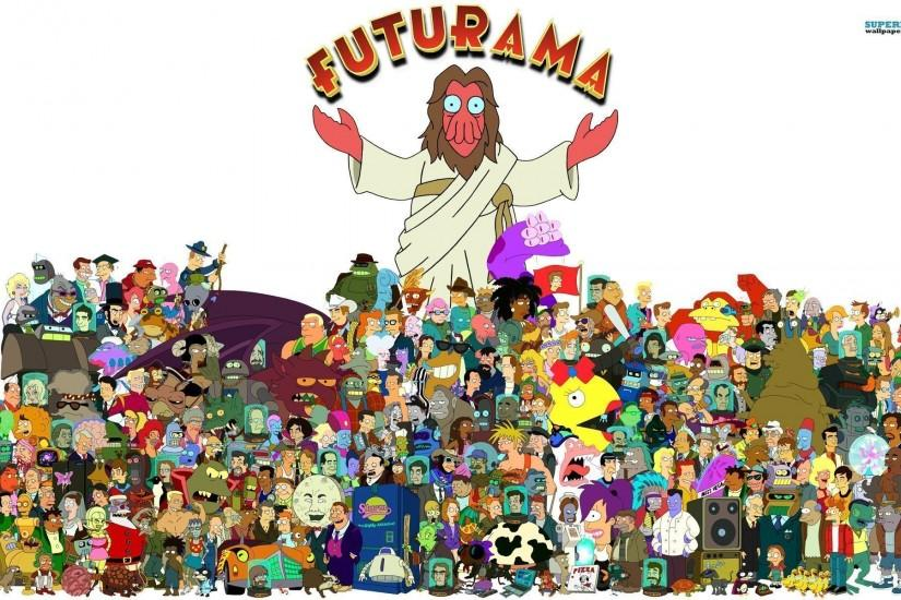 futurama wallpaper 1920x1200 ipad retina