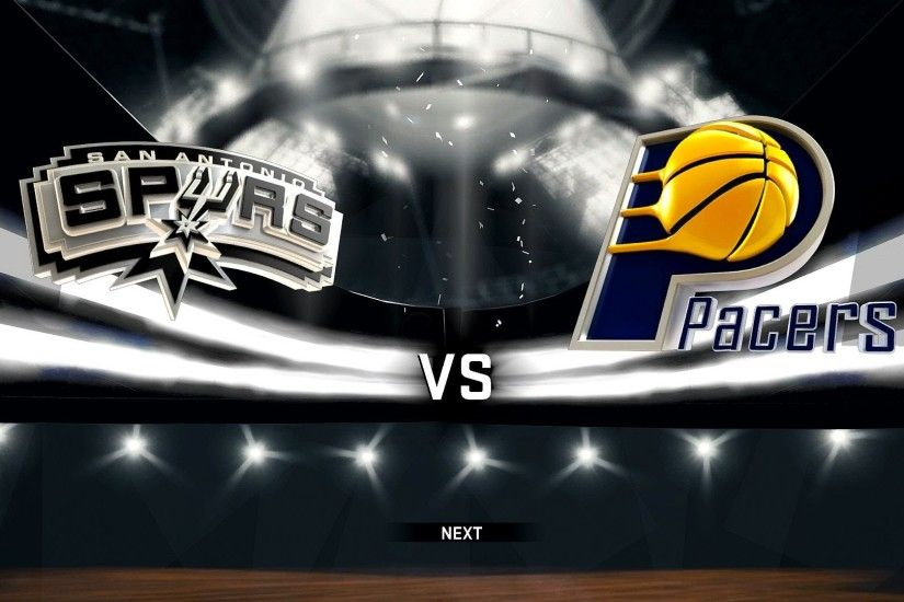 PS4: NBA 2K17 - San Antonio Spurs vs. Indiana Pacers [1080p 60 FPS] -  YouTube