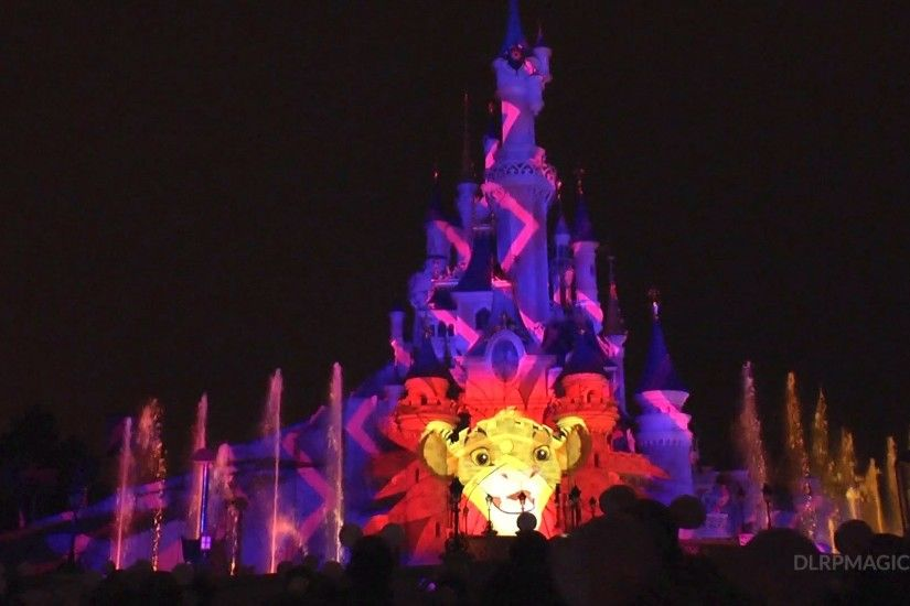 "The Lion King ""I Just Can't Wait"" ""Hakuna Matata"" scene - Disneyland Paris  - YouTube"