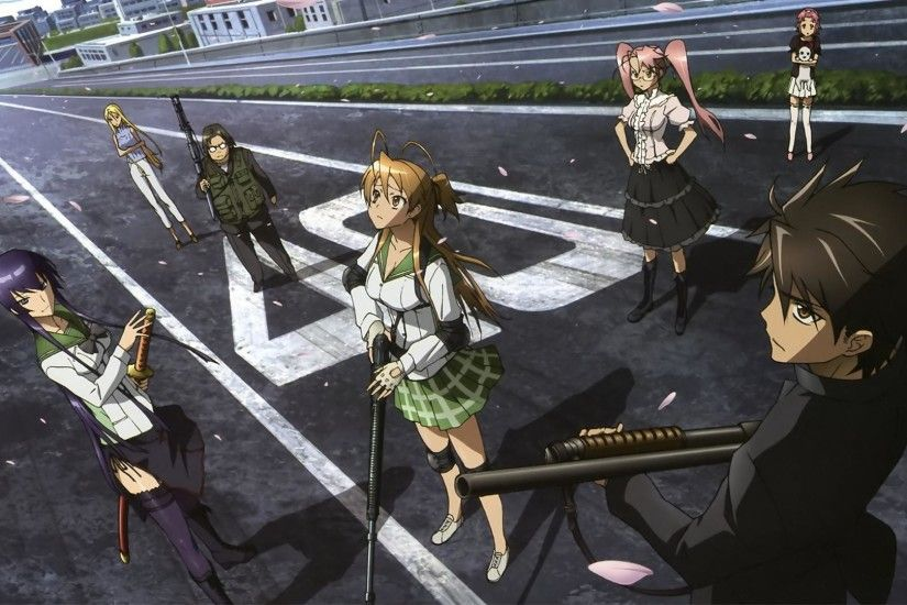 Highschool Of The Dead high definition wallpapers