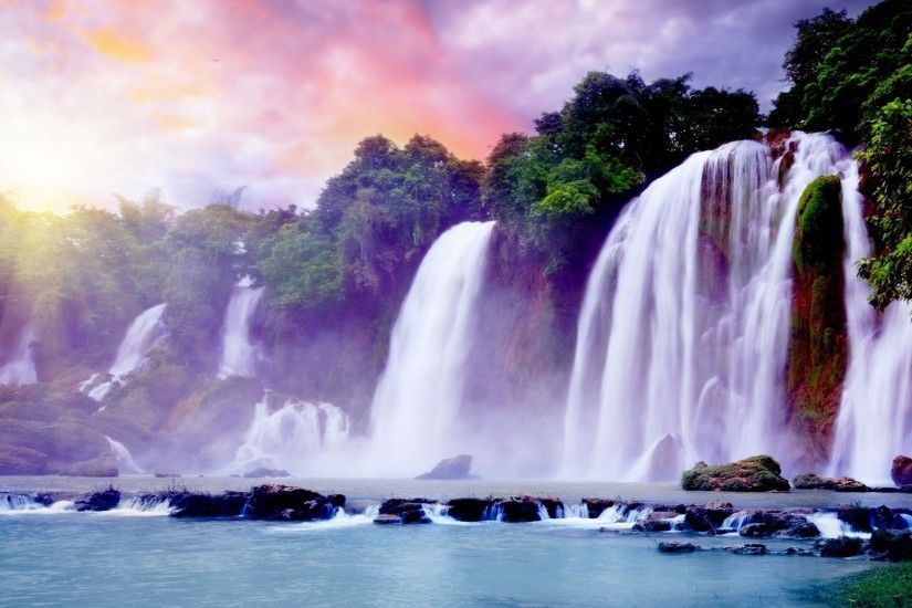 Nice-and-Beautiful-Waterfalls-HD-Wallpapers-free-for-