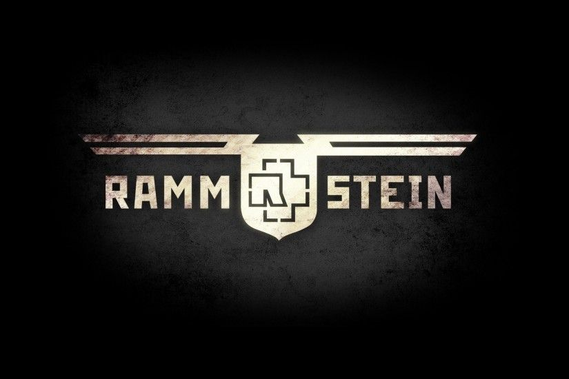 Rammstein, Music, Metal Band, Logo - HD wallpapers