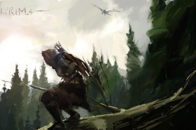 Cool Skyrim Wallpapers - WallpaperSafari