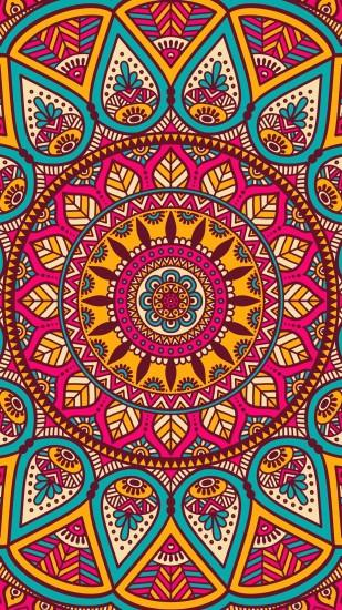 beautiful mandala wallpaper 1242x2208 retina