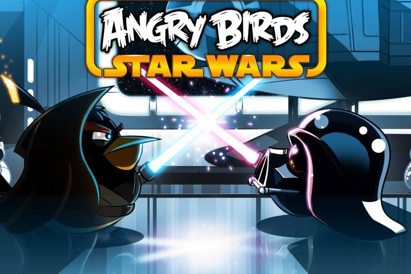 Angry Birds Star Wars iPad Wallpaper
