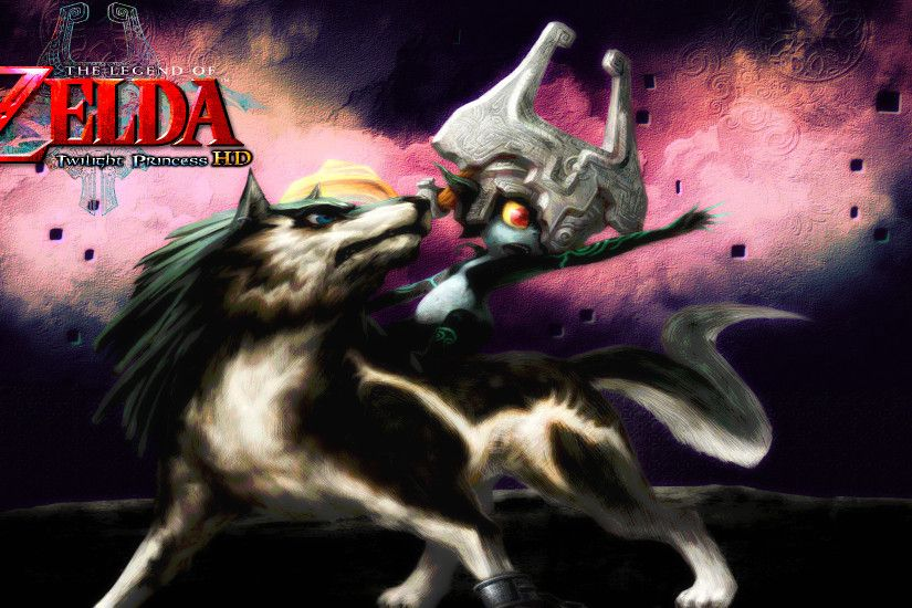 ... Zelda: Twilight Princess HD - Wolf Link Wallpaper by DaKidGaming