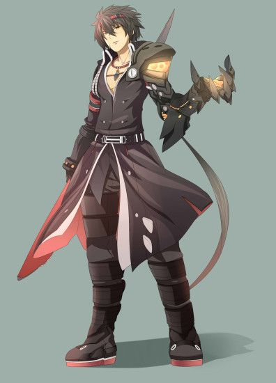 Tags: Anime, beaverocket, Elsword, Raven (Elsword), Weapon Taker (