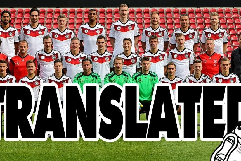 German National Team Player Names (Translated) || CopyCatChannel - YouTube