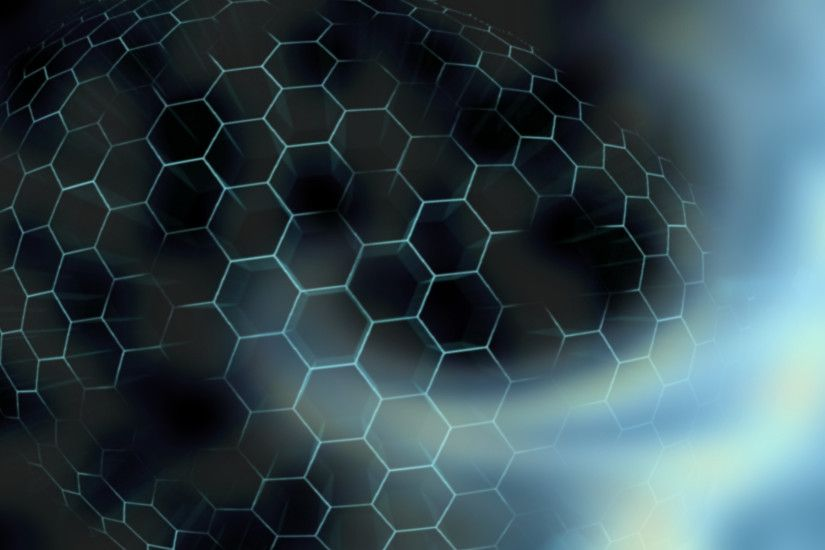 ... blue hexagon wallpaper wallpapersafari ...
