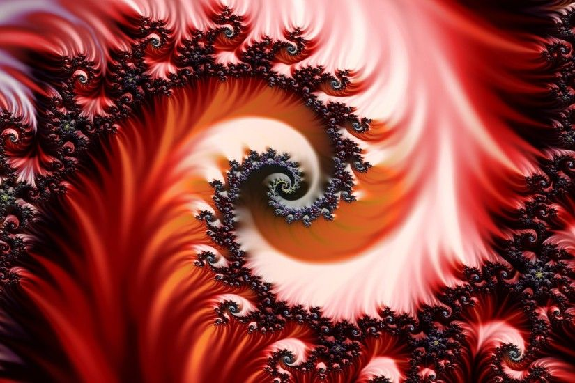 Image detail for -Wallpaper, fractal, red - 81368