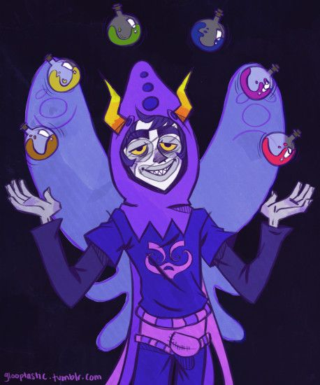 Gamzee God Tier by glooptastic Gamzee God Tier by glooptastic