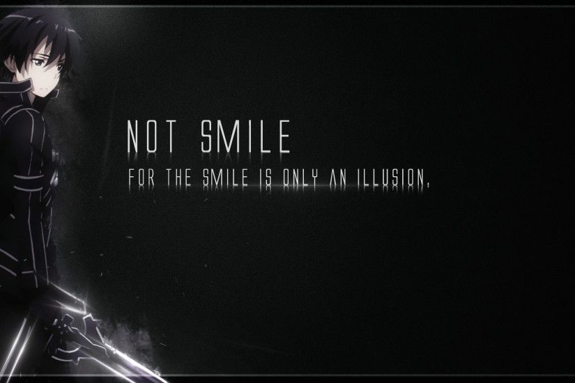 Kirito Wallpaper Quotes by shuk-kirito on DeviantArt ...