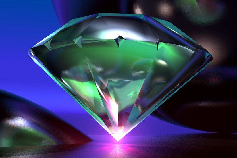 Beautiful 3D Diamond Full Wallpapers HD / Desktop and Mobile Backgrounds