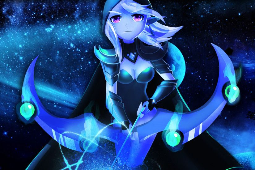 Anime Drow Ranger (fan art)