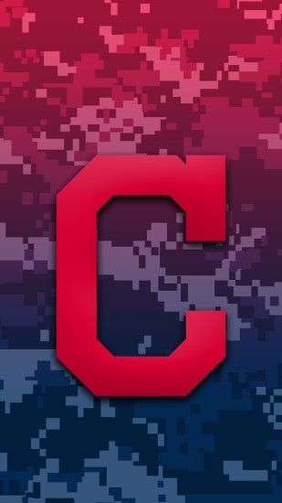 Cleveland Indians Camo Background For Iphone 7 Plus pertaining to Cleveland  Indians Phone Wallpapers ...