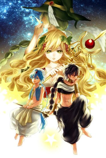 download MAGI: The Labyrinth of Magic image