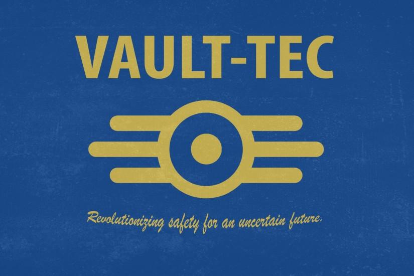 Vault-Tec Wallpaper by Harknus