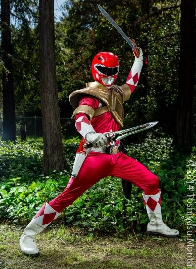 MMPR Red Ranger: Dragon Shield, Power Up! by effektdmentality on DeviantArt