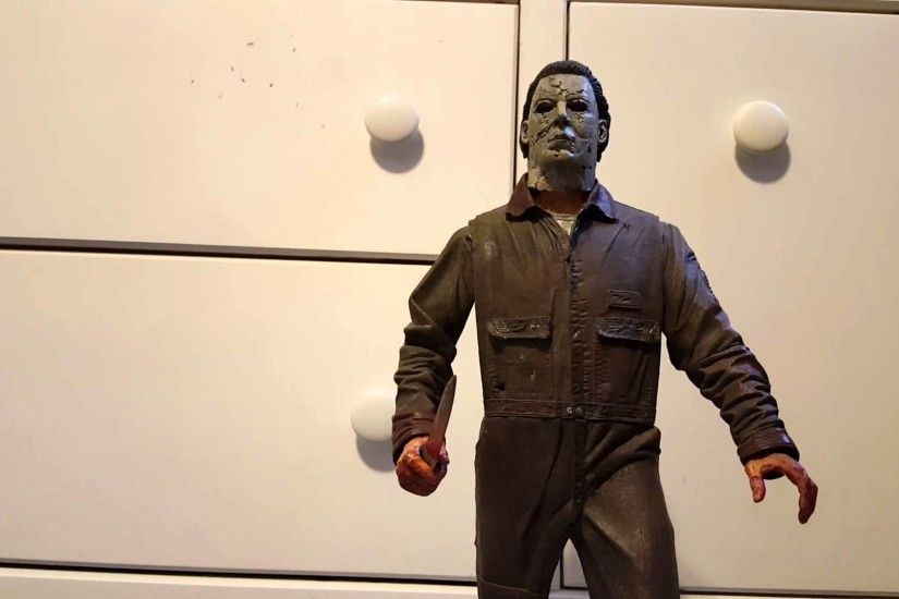 Neca 1/4 scale rob zombie halloween michael myers figure review!