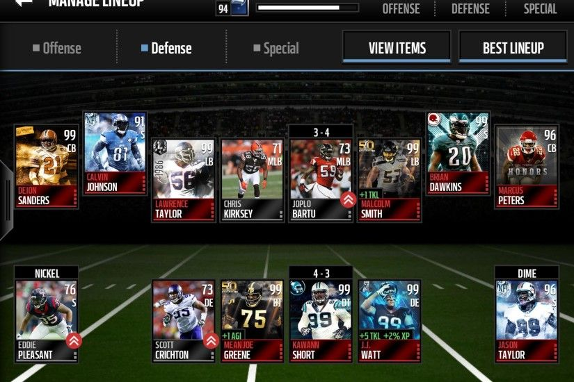 Share your team - Madden NFL Mobile Discussion - Madden NFL Mobile - Madden  NFL 18 Forums - Muthead