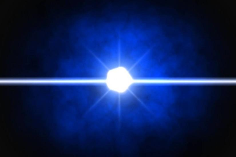 Blue Round Lens Flare Black Background 26 ANIMATION FREE FOOTAGE HD