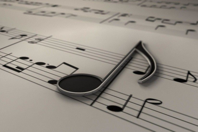 Black And White Music Notes Wallpapers | Foolhardi.