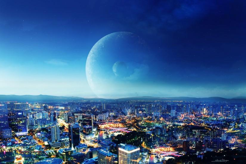 CIty Night Fantasy Wallpapers | HD Wallpapers