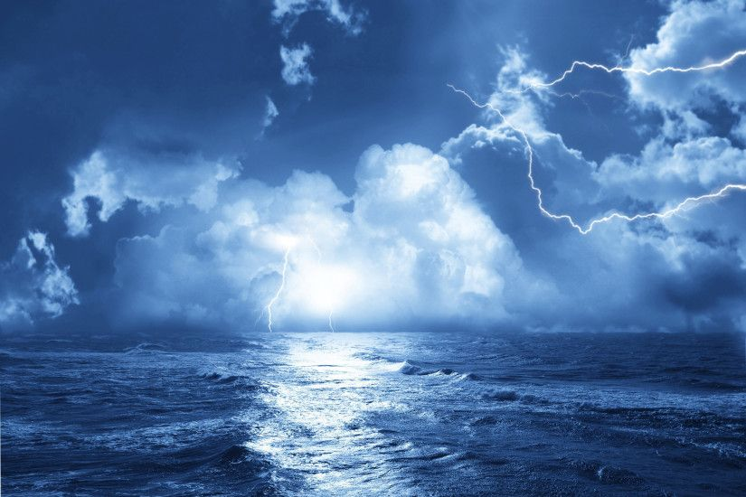 Ocean Storm Desktop Backgrounds HD wallpaper background