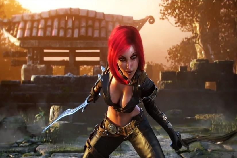 Katarina Wallpaper by LeagueWallpapers Katarina Wallpaper by  LeagueWallpapers