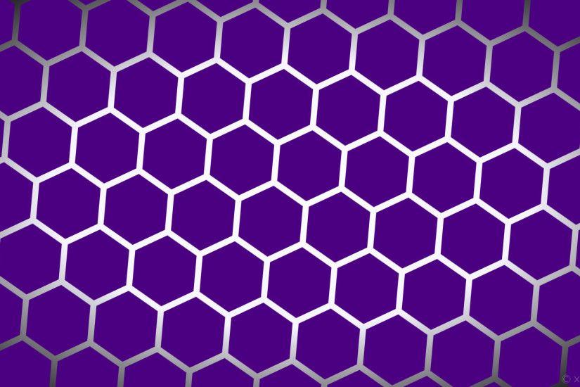 Wallpaper Grant Hexagon Glow White Black Purple Indigo Ghost 4b0082 Ffffff F8f8ff