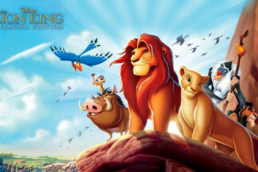 The Lion King Cartoon Wallpaper