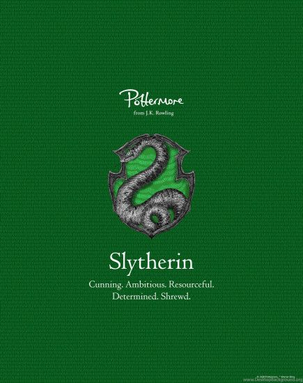 Pottermore Slytherin Images Pack
