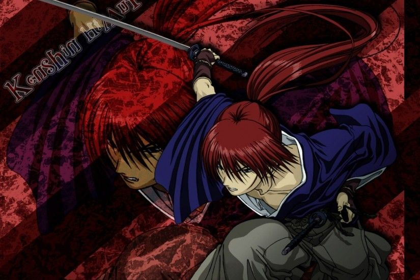 redheads kenshin samurai x 1400x1050 wallpaper Art HD Wallpaper