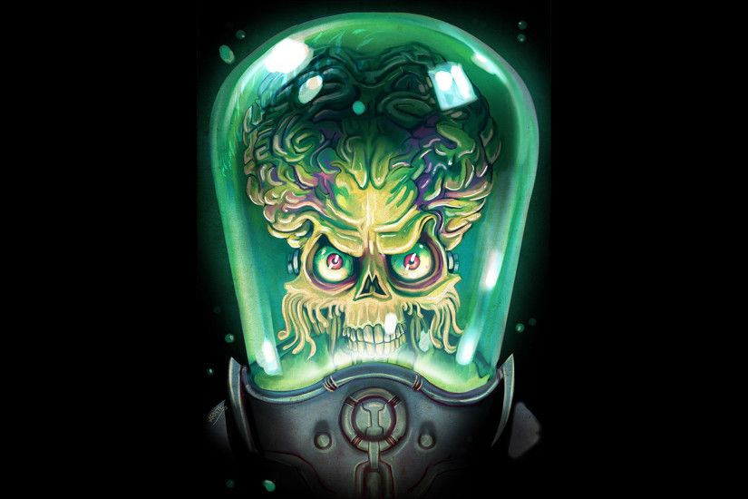 Fan-art Mars Attacks Movies Tim Burton